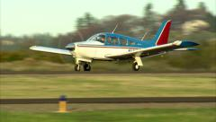 Piper Arrow Take Off Stock Footage