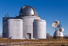 observatory science - stock photo