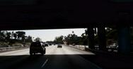 Stock Video Footage of 4K Driving LA Freeway 08