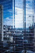 montreal skyscrapers - stock photo