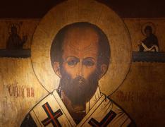 Stock Photo of saint nicholas icon