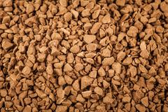 Soluble coffee granules Stock Photos