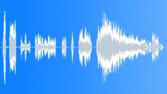 Cartoon frightened voice - sound effect