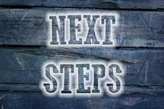 Next steps concept Piirros