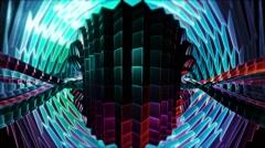 Flickering Totem Digital Stream Stock Footage