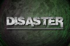 Disaster concept Stock Illustration