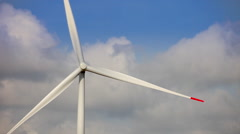 Windmills for renewable electric energy production 05 Stock Footage