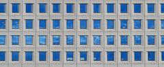 Modern futuristic business building in city Kuvituskuvat