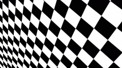 Checkered Motion Background 1 Stock Footage