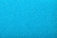 blue texture cellulose foam sponge background - stock photo