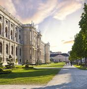 Museum of Art History in Vienna - Austria - stock photo