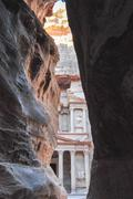 al khazneh - treasury, petra - stock photo