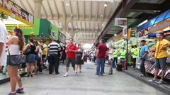 Municipal Market (Mercado Municipal) in Sao Paulo, Brazil Stock Footage
