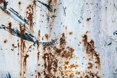 Grunge retro rusty metal texture or background - stock photo