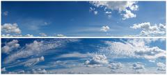 Stock Photo of clouds sky panorama