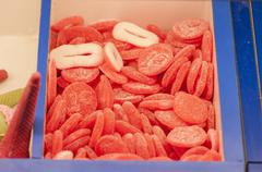 Assortment of candies Stock Photos