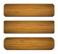 Vector wood planks Stock Illustration