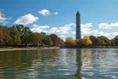 Washington Monument Time Lapse Stock Footage