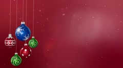 Merry Christmas Backgrounds-04 - stock footage