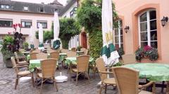 View of the German small town Saarburg. Stock Footage