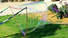 Bubble blower Stock Footage