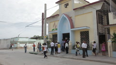 Adventist Church in Cuba Stock Footage