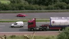 Jentone Freight Interbulk tanker on M6 Stock Footage