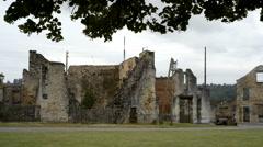 Oradour-sur-Glane, France, Europe (Oradour sur Glane) Stock Footage