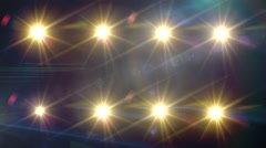Flashing Stage Lights Background for Music Videos Stock Footage