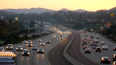 101 FREEWAY TIMELAPSE 4K Stock Footage