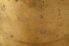 Stock Photo of rusty brass texture