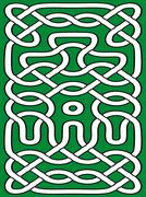 Abstract celtic ornament Stock Illustration