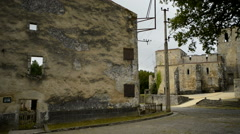 Oradour-sur-Glane, France, Europe (Oradour sur Glane) Stock Footage