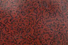 red flower lacquer paint texture - stock photo
