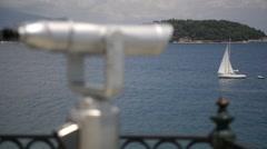 Stock Video Footage of Street view in Corfu, Greece.