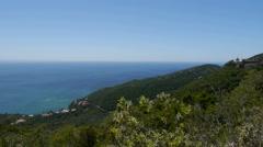 Portuguese coast - stock footage
