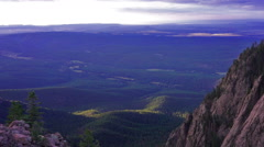 140909 hermit peak las vegas, new mexico Stock Footage
