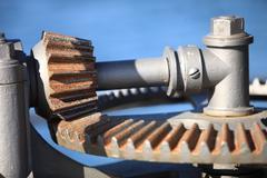 Steel cog wheels metal gears mechanical ratchets Kuvituskuvat