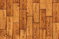 Wooden flooring - vector background Stock Illustration