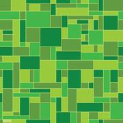 Green abstract geometric vector pattern Stock Illustration