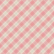 Square seamless pattern vintage pink plaid vector background. Stock Illustration
