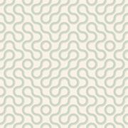 Vector seamless pattern - wavy lines Stock Illustration