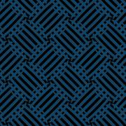 Vector seamless pattern - diagonal blue and black abstract background Stock Illustration