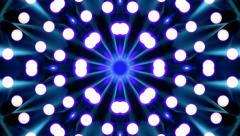 Blue Vortex VJ Loop Stock Footage