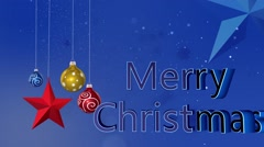 New Christmas Backgrounds-02 Stock Footage