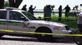 Police Car TV News Media Reporters Plane Crash Site HD Footage