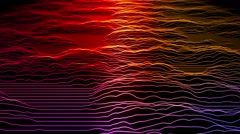 Form Scapes VJ Loop 9 Stock Footage