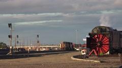 Roseville railroad yard Stock Footage