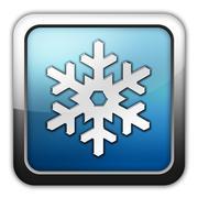 Stock Illustration of icon, button, pictogram winter recreation