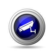 Stock Illustration of surveillance camera icon